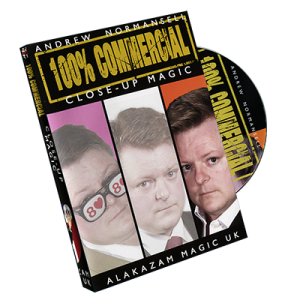 100 PERCENT VOL. 3 – CLOSE-UP MAGIC BY ANDREW NORMENSELL ON DVD